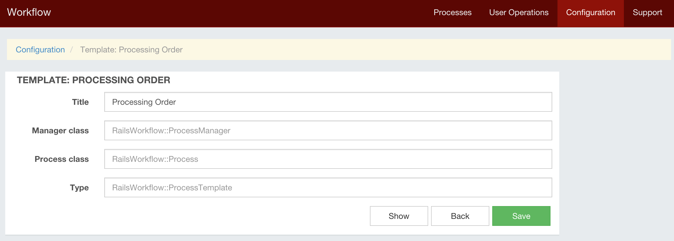 Rails Workflow Tutorial Creating Process Workflow In Rails Application - New process template